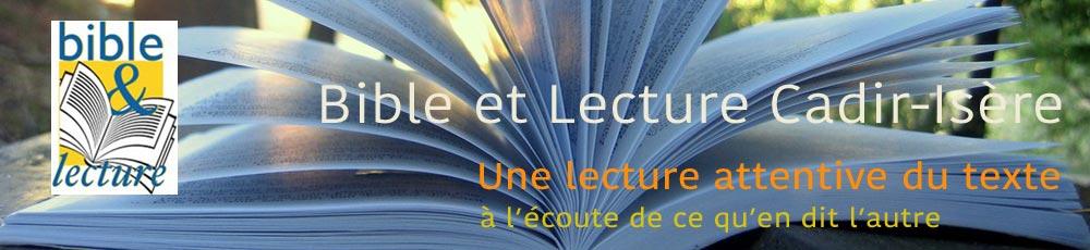 Bible & Lecture CADIRIsère